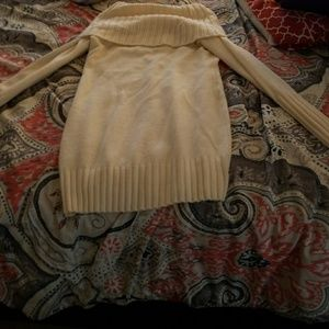 H&M cream sweater dress size small